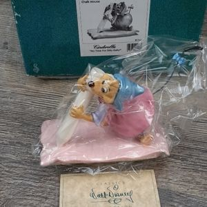 """WDCC DISNEY """"NO TIME FOR DILLY-DALLY"""" CHALK MOUSE"""